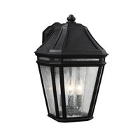 Feiss Londontowne 3 Light Outdoor Wall Sconce in Black OL11302BK