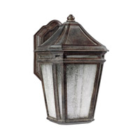 Londontowne 3 Light 16 inch Weathered Chestnut Outdoor Wall Sconce in Integrated LED