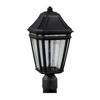 Londontowne 3 Light 17 inch Black Outdoor Post Lantern in Integrated LED