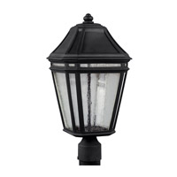 Londontowne 3 Light 20 inch Black Outdoor Post Lantern in Integrated LED