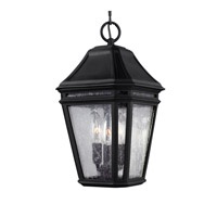 Londontowne 3 Light 8 inch Black Outdoor Pendant in Standard