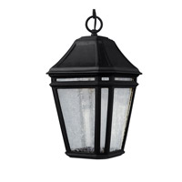 Feiss OL11309BK-LED Londontowne 3 Light 8 inch Black Outdoor Pendant in Integrated LED