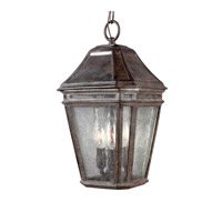 Londontowne 3 Light 8 inch Weathered Chestnut Outdoor Pendant in Standard