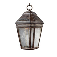 Feiss OL11309WCT-LED Londontowne 3 Light 8 inch Weathered Chestnut Outdoor Pendant in Integrated LED