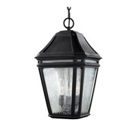 Londontowne 3 Light 10 inch Black Outdoor Pendant in Standard