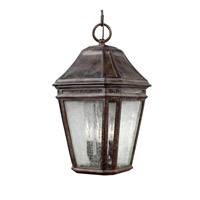 Londontowne 3 Light 10 inch Weathered Chestnut Outdoor Pendant in Standard