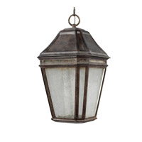 Feiss OL11311WCT-LED Londontowne 3 Light 10 inch Weathered Chestnut Outdoor Pendant in Integrated LED