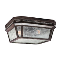 Londontowne 2 Light 12 inch Weathered Chestnut Outdoor Flush Mount in Standard