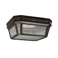Londontowne 2 Light 12 inch Weathered Chestnut Outdoor Flush Mount in Integrated LED