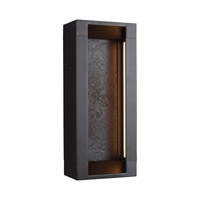 Mattix LED 15 inch Oil Rubbed Bronze Outdoor Wall Lantern