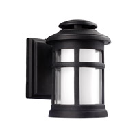 Oakfield LED 9 inch Dark Weathered Zinc Outdoor Wall Lantern