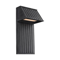 Tove LED 16 inch Dark Weathered Zinc Outdoor Wall Lantern