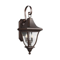 Feiss OL13101PTBZ Oakmont 2 Light 27 inch Patina Bronze Outdoor Wall Lantern