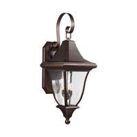 Oakmont 4 Light 44 inch Patina Bronze Outdoor Wall Lantern