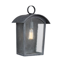 Hodges 1 Light 16 inch Ash Black Outdoor Wall Lantern