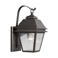 Herald 1 Light 13 inch Antique Bronze Outdoor Wall Lantern