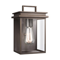 Chappman 1 Light 10 inch Antique Bronze Outdoor Wall Lantern