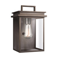 Chappman 1 Light 12 inch Antique Bronze Outdoor Wall Lantern
