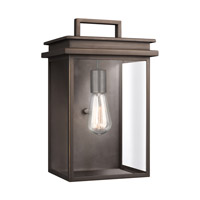 Chappman 1 Light 15 inch Antique Bronze Outdoor Wall Lantern