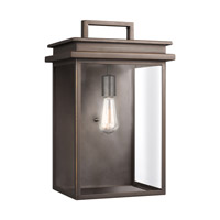 Feiss OL13603ANBZ Glenview 1 Light 19 inch Antique Bronze Outdoor Wall Lantern