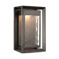 Urbandale LED 10 inch Antique Bronze Outdoor Wall Lantern