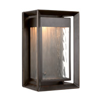 Urbandale LED 13 inch Antique Bronze Outdoor Wall Lantern