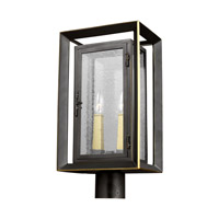 Feiss OL13807ANBZ/PBB Urbandale 2 Light 19 inch Antique Bronze and Painted Burnished Brass Outdoor Post Lantern
