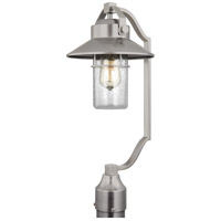 Feiss OL13907PBS Boynton 1 Light 21 inch Painted Brushed Steel Outdoor Post Lantern