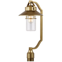 Feiss OL13908PDB Boynton 1 Light 25 inch Painted Distressed Brass Outdoor Post Lantern