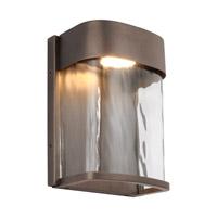 Feiss OL14100ANBZ-L1 Bennie LED 8 inch Antique Bronze Outdoor Wall Lantern