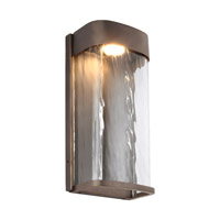 Bennie LED 12 inch Antique Bronze Outdoor Wall Lantern