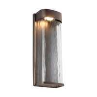 Bennie LED 16 inch Antique Bronze Outdoor Wall Lantern