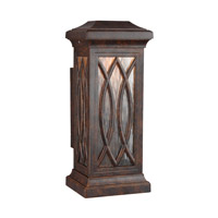 Rolland LED 15 inch Walnut Outdoor Wall Lantern