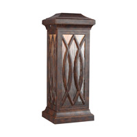 Rolland LED 23 inch Walnut Outdoor Wall Lantern