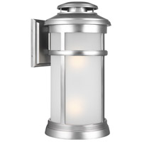 Newport 2 Light 20 inch Painted Brushed Steel Outdoor Wall Lantern