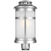 Feiss OL14307PBS Newport 1 Light 19 inch Painted Brushed Steel Outdoor Post Lantern