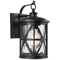 Feiss OL15200ANBZ Millbrooke 1 Light 12 inch Antique Bronze Outdoor Wall Lantern