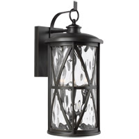 Feiss OL15203ANBZ Millbrooke 3 Light 22 inch Antique Bronze Outdoor Wall Lantern