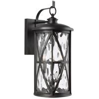 Feiss OL15203ANBZ Millbrooke 3 Light 22 inch Antique Bronze Outdoor Wall Lantern
