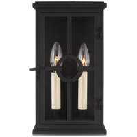 Feiss OL15300TXB Belleville 2 Light 12 inch Textured Black Outdoor Wall Lantern