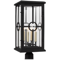 Feiss OL15307TXB Belleville 4 Light 22 inch Textured Black Outdoor Post Lantern