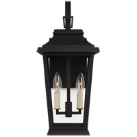 Feiss OL15401TXB Warren 2 Light 20 inch Textured Black Outdoor Wall Lantern