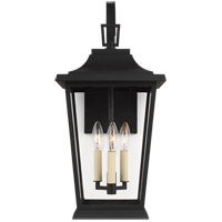 Feiss OL15402TXB Warren 3 Light 23 inch Textured Black Outdoor Wall Lantern