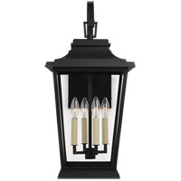Feiss OL15403TXB Warren 4 Light 26 inch Textured Black Outdoor Wall Lantern