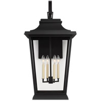 Feiss OL15404TXB Warren 4 Light 33 inch Textured Black Outdoor Wall Lantern
