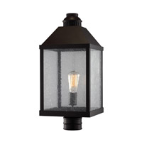 Feiss Lumiere 1 Light Outdoor Post Lantern in Oil Rubbed Bronze OL18010ORB-AL