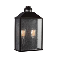 Feiss Lumiere 2 Light Outdoor Lantern Wall Sconce in Oil Rubbed Bronze OL18011ORB