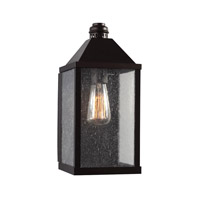 Feiss Lumiere 1 Light Outdoor Lantern Wall Sconce in Oil Rubbed Bronze OL18013ORB