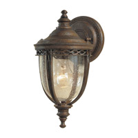 Feiss English Bridle 1 Light Outdoor Wall Sconce in British Bronze OL3000BRB