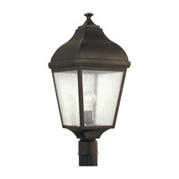 Feiss OL4007ORB-F Terrace 1 Light 23 inch Oil Rubbed Bronze Outdoor Post Lantern in Fluorescent